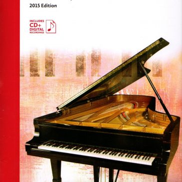 Grade 2 Repertoire: 2015 Celebration Series