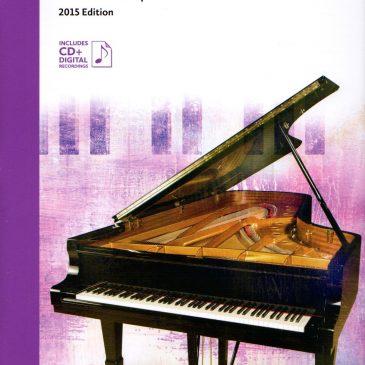 Grade 3 Repertoire: 2015 Celebration Series