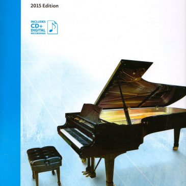 Grade 4 Etudes: 2015 Celebration Series