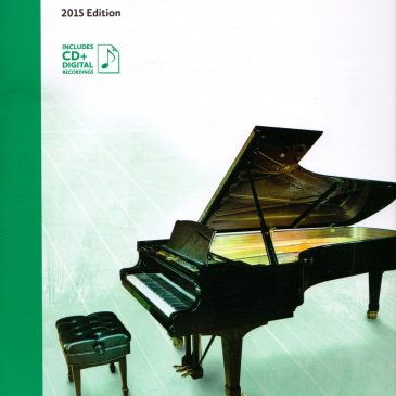 Grade 5 Etudes: 2015 Celebration Series