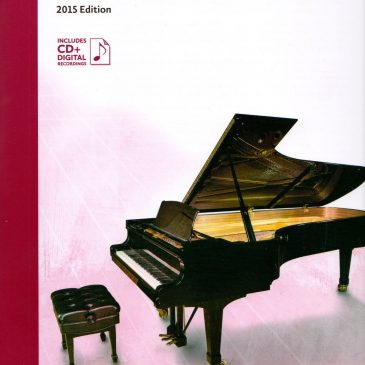 Grade 7 Etudes: 2015 Celebration Series