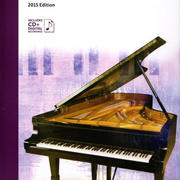 Grade 8 Repertoire: 2015 Celebration Series