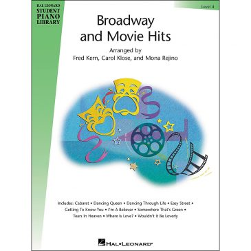 Broadway and Movie Hits, Level 4