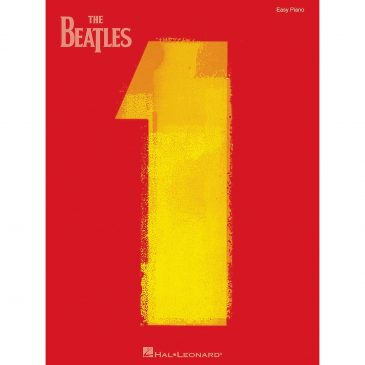 The Beatles 1 Easy Piano